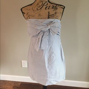 Pin stripe sun dress